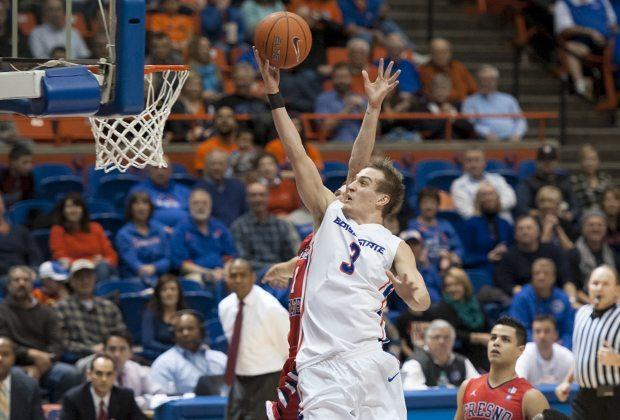 Boise State Men's Basketball vs Fresno State, John Kelly photo