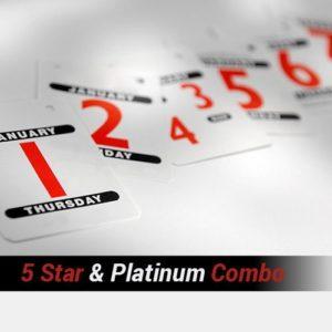 5 Star & Platinum Combination Package – One Week